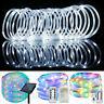 10M LED Strip Rope Light Fairy String Tube Solar/Battery/USB Waterproof Garden