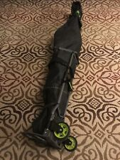 'On Snow' ski bag with wheels- Hand Made, Made Strong.