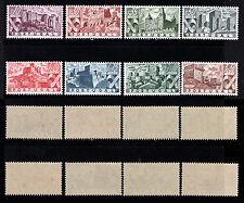 1946 Portugal Castles Complete MNH SET OG Af#664/71. Back image
