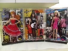 1980's Ladies Rocker Cindy Lauper, Joan Jett & Debbie Harry (Blondie) Barbies