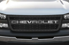 Custom Steel Grille for Chevy Silverado 1500/2500 2003-07 CHEVROLET SS Underlay