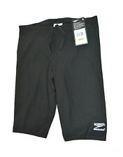 Speedo Boy's Competitive Endurance Jammer Swimsuit Black Youth Size M