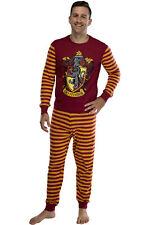 Harry Potter Hogwart's House Crest Tight Fit Adult Cotton Pajama Set