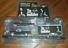 Greenlight Collectibles Hollywood- The Godfather: Chevy C-10, Cadillac & Trailer