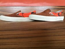 vans vault Size 11 OG Classic Slip-On Modernica Seed Pearl Palm Tree Brown Suede