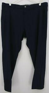 Adidas Navy Blue Golf Pants Sz40x30 Belt Loops 4 Pockets NWT Retail $90