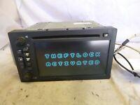 03-05 Chevrolet Silverado Escalade Non Lux Navigation GPS Radio 15230099 ZUN23