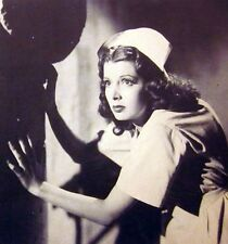 HOUSE OF DRACULA clipping Jane Adams as sexy nurse B&W photo 1945 vampires