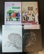 (G)I-DLE/GIDLE Signed Album Autograph I am I Made I Trust Mwave kpop US Seller