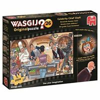 Wasgij 19150 Original 26 Celebrity Chief Chef Jigsaw Puzzle, 1000-Piece