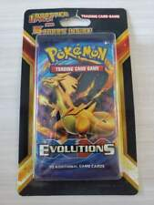 Pokemon XY Evolutions Charizard Booster Blister Pack With 5 Cards Sealed