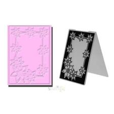 1pc Sun Flower Plastic Embossing Folder Template For Scrapbook Photo Album Craft