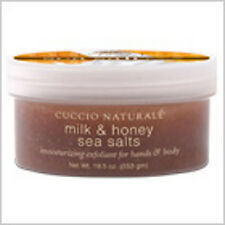 Cuccio Naturale Milk & Honey Sea Salt Top Ganzkörper Peeling für traumhafte Haut