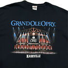 Grand Ole Opry Nashville Black T Shirt Men's XL Country Music Concert 2 Sided!