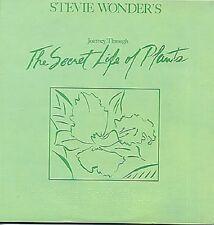 STEVIE WONDER Journey Through The Secret Life Of Plants 1979 UK Double Vinyl LP