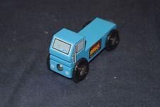 Genuine Brio Sweden Wooden Railway 33636 Tiny Blue Truck with Flatbed