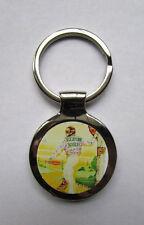 Elton John Key Chain, Elton John Yellow Brick Road Logo Keychain,  Elton John