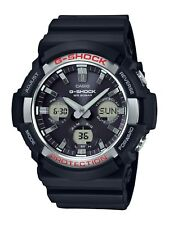 Casio G-Shock Men's Solar World Time Black Resin 50mm Watch GAS100-1A