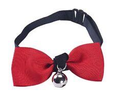 Accessoire costume déguisement chien ou chat 1 noeud papillon en tissu - rouge