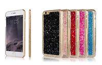 Luxury Bling Crystal Diamond Cover Shinny Hard Back Case For New Smart Phones