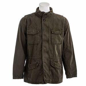 GAP Men's Military Jacket With Hoodie
