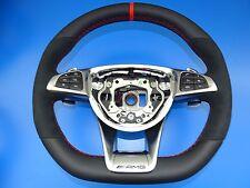 Mercedes volante AMG volante mopf performace cirugía estética designo rojo w205