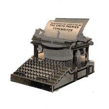SMITH PREMIER No.1 TYPEWRITER DIE CUT TRADE CATALOG Antique Ephemera Vtg Paper