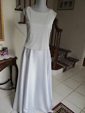 Beautiful ARIANNA Silver Gown size 10