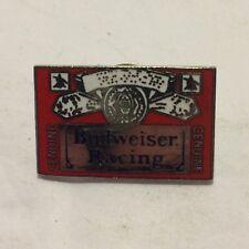 Budweiser Racing - Vintage Pin - Racing - EX