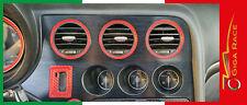 alfa romeo 159 adesivi strumentazione consolle centrale tasto accensione auto
