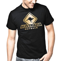 Australia Outback Australien Känguru Canguro Crossing Sprüche Geschenk T-Shirt