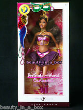 Carnaval New Year Festivals of the World Barbie Doll Dolls Brazil