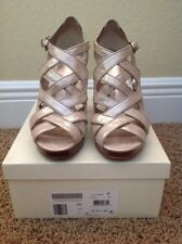 Coach Aenya Platform Women Shoes Us 8.5 Platinum