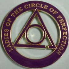Ladies of The Circle of Perfection Cut Out Car Emblem