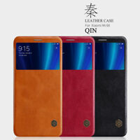 For Xiaomi Mi A2 Genuine Nillkin Smart Wake View Window PU Leather Flip Case