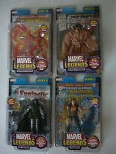 Marvel Legends Series 2 (II) 2002 Doom! Torch! Prince Namor! Thing Variant! MIB
