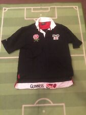 ENGLAND GUINNESS COTTON TRADER RUGBY FOOTBALL JERSEY SHIRT TOP LARGE