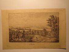 Murten-CEPPO libro foglio di 1830/età stampa/Svizzera