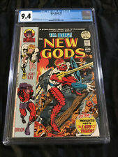 1972 DC Jack Kirby's New Gods #9 CGC 9.4 NM WHITE Pgs 1st App The Bug - Forager!