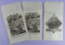 World Stores - Join Our Xmas Club, Unused Shop Advertising Paper Bags
