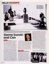 Hello, Goodbye Damo Suzuki & Can Mojo Magazine Cutting