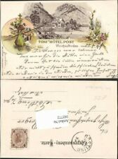 102772;Tolle Litho Weichselboden Tonis Hotel Post 1898