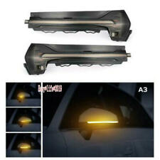 For Audi A3 8V S3 RS3 2013-2018 Side Wing Mirror LED Dynamic Turn Signal Light
