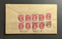 1946 Bombay India Airmail Cover to Paris France