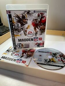 Madden NFL 10 Playstation 3 PS3 Complete CIB w Manual