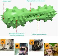 Pet Dog Chew Toys for Aggressive Dogs Rubber Molar Stick Dog Oral Teeth Cleaning