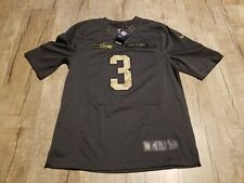 Nike NFL Seattle Seahawks Russell Wilson  3 Salute to Service Jersey Men  SzSmall f991c1cc6