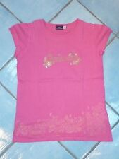 Tee shirt fille rose fushia 10 ans Sergent Major