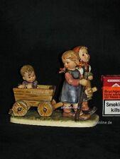 """Goebel Hummel 406 """"Frohe Fahrt"""", pleasant journey Kinder mit Leiterwagen century"""