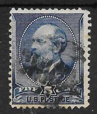 U.S.A. 1882 GOOD USED SG 221 GARFIELD